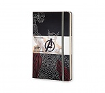 Avengers - Notes Moleskine Thor w linię, duży [13x21cm] (Moleskine The Avengers Limited Edition Notebook Large Ruled Hard Thor)