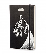 Notes Moleskine BATMAN czysty, duży [13x21cm] czarny (Moleskine BATMAN Limited Edition Plain Large Hard Cover)