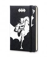 Notes Moleskine BATMAN czysty, mały [9x14cm] czarny (Moleskine BATMAN Limited Edition Plain Pocket Hard Cover)