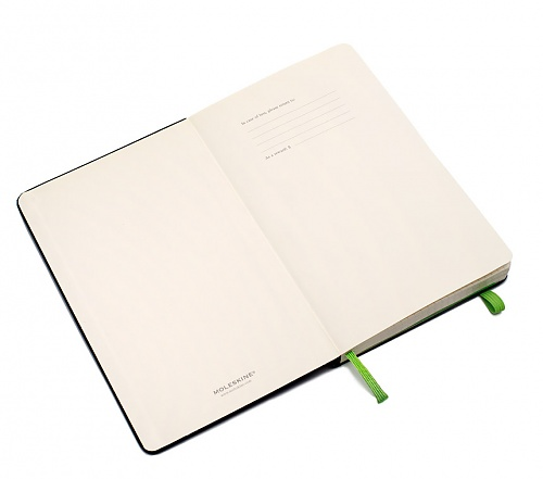 Notes Moleskine Evernote Smart Notebook w linię, szary [13 x 21 cm] (Moleskine Evernote Smart Notebook Ruled Large)