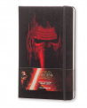 Notes Moleskine STAR WARS VII w linię, duży [13x21cm] czarny (Moleskine STAR WARS VII Limited Edition Ruled Large Hard Cover)