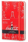 Notes Moleskine Coca Cola czysty, mały [9x14cm] czerwony (Moleskine Coca Cola Limited Edition Plain Pocket Hard Cover)