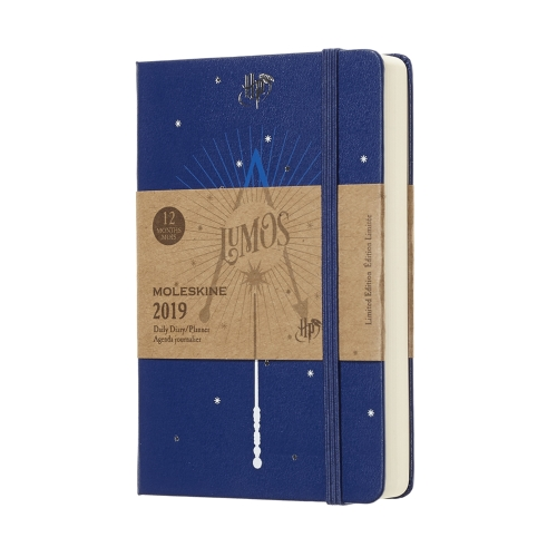 "Kalendarz Moleskine 2019 ""Harry Potter"" Dzienny P (9x14cm) twarda oprawa (Daily Planner Harry Potter Pocket Hard Cover)"